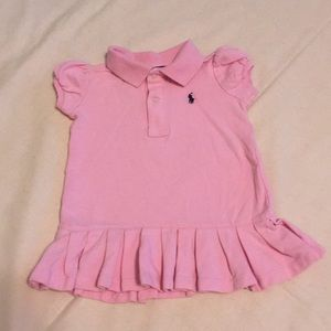 2/$15 Baby Girl Pink Ralph Lauren Dress 9 Month